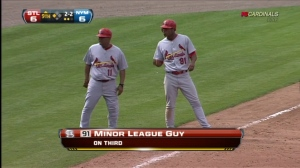 Oscar Tavares is no mere Minor League Guy