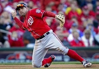 Is Ryan Zimmerman slowly transitioning to first base?
